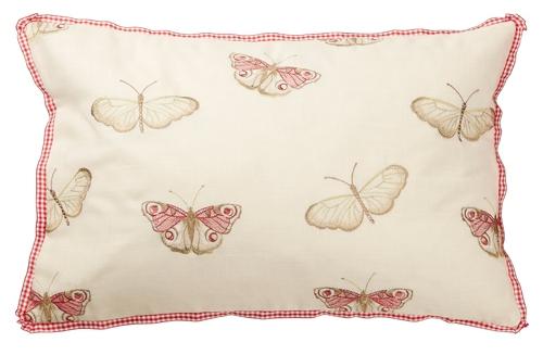 iLiv Vintage Butterfly Chintz Cushion Anitas Soft Furnishings Warner Street Accrington