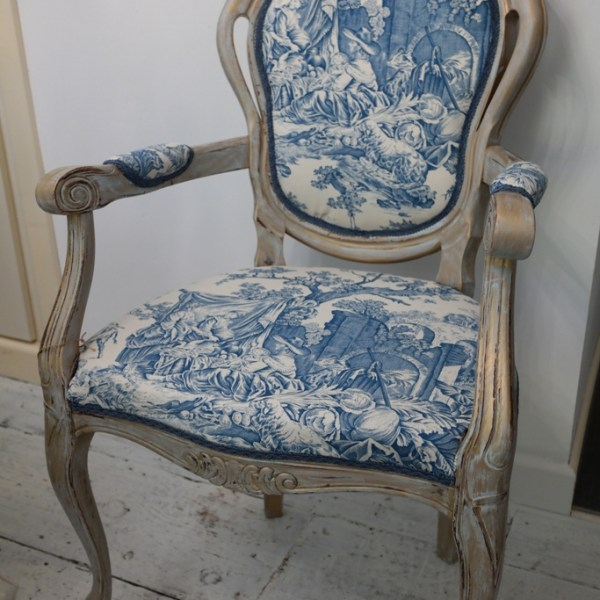 French louis style Rococo dining bedroom chair French toile fabric  AccringtonFrench Louis style Rococo dining bedroom chair French Toile fabric  . Louis Style Bedroom Furniture. Home Design Ideas