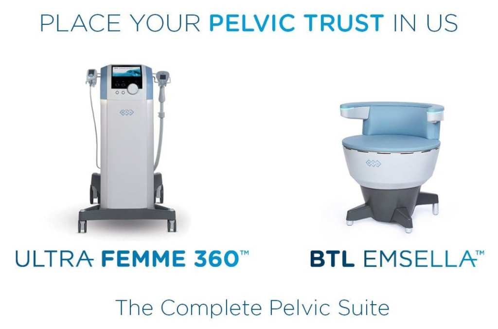Ultra Femme and Emsella Chair for Urinary Incontinence