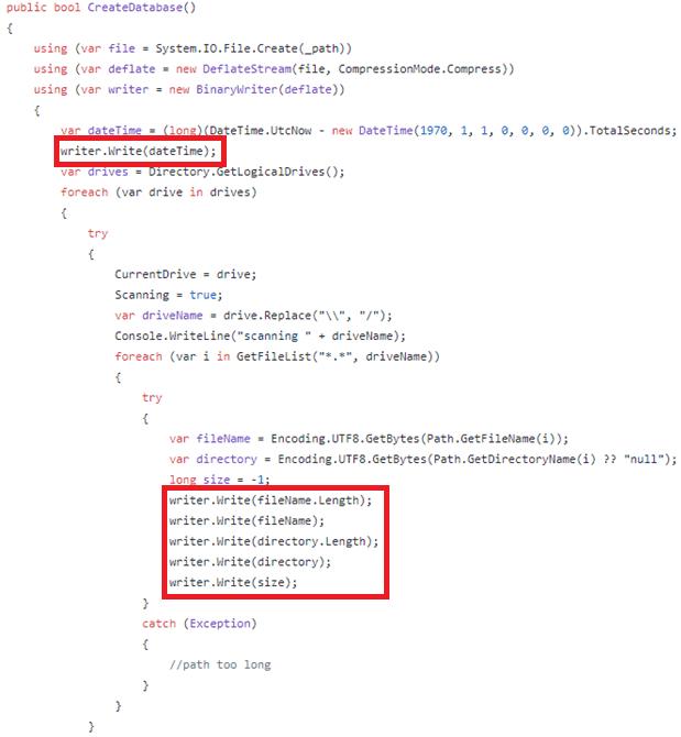 More Ulterius code