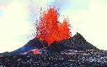 lava-flowing-on=the-volcano