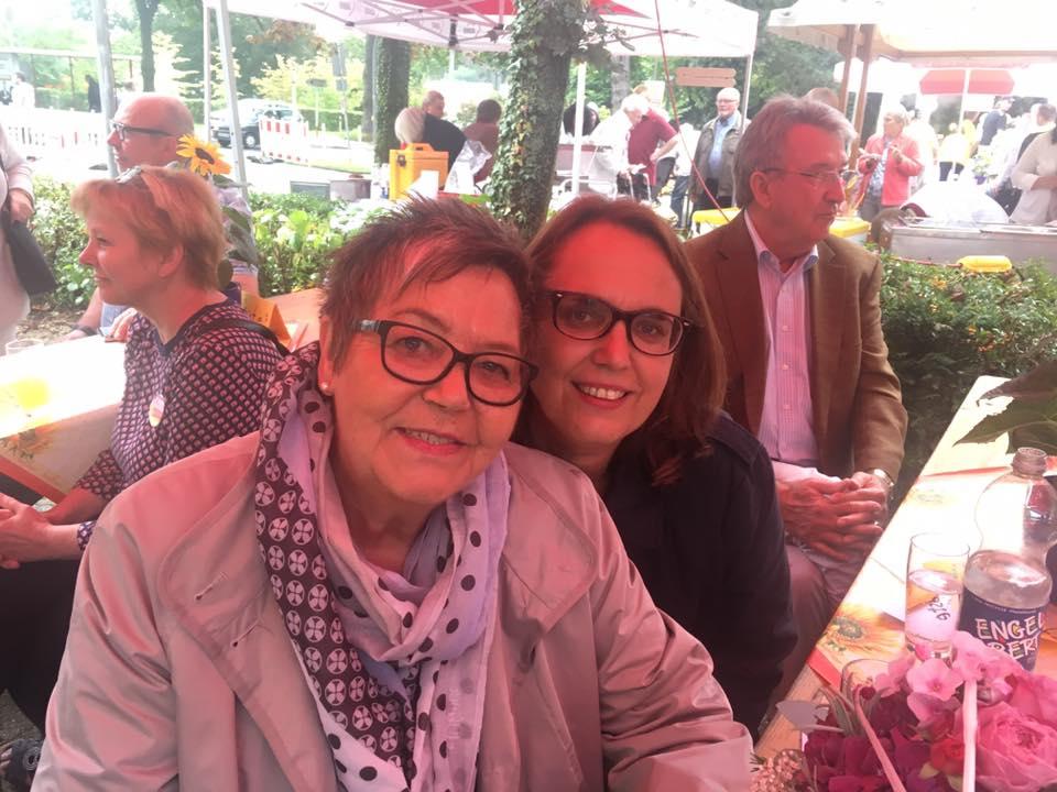 Gerda Kieninger und Anja Butschkau