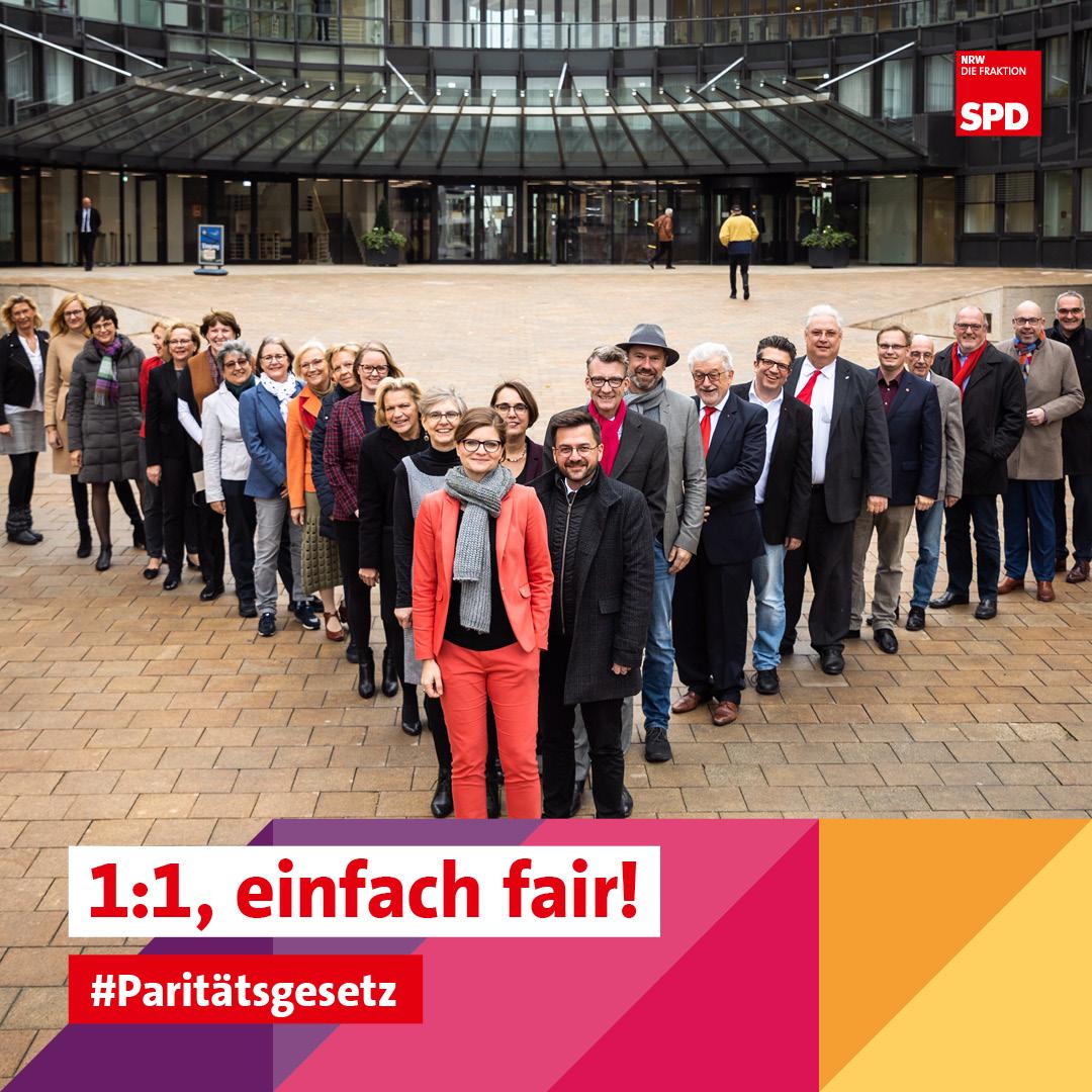 SPD Fraktion NRW für Paritätsgesetz