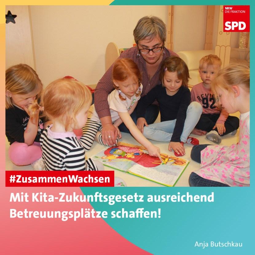 Kita-Zukunftsgesetz NRW SPD U3-Ausbau