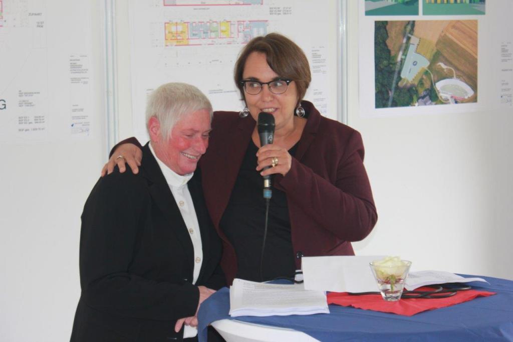 Infoveranstaltung Kinderhospiz Sonnenherz Anja Butschkau Elisabeth Grümer