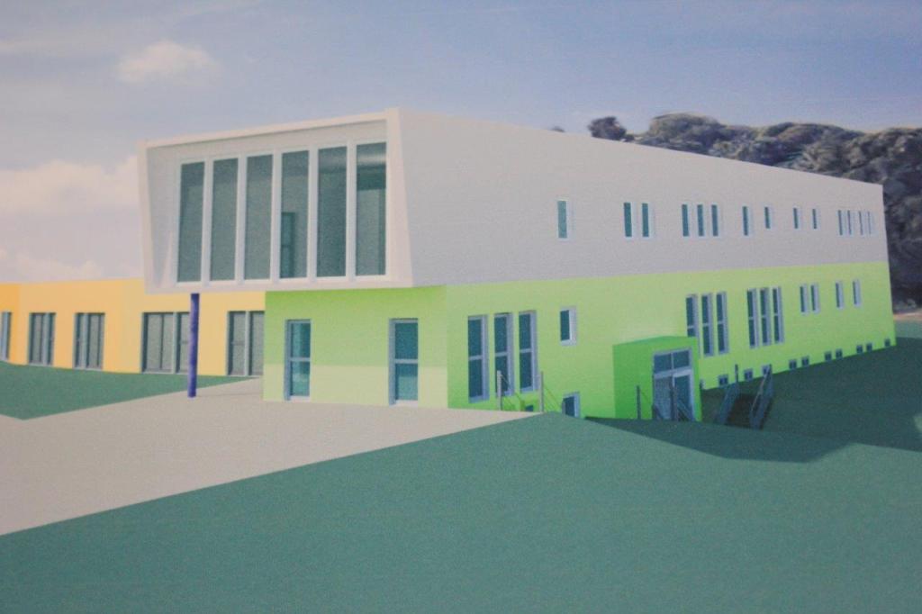 Entwurf Gebäude Kinderhospiz Sonnenherz