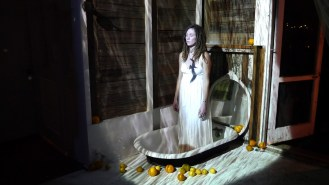 Anja Marais Video - Between Rock and Water? - INSTALLATION DOCUMENTATION