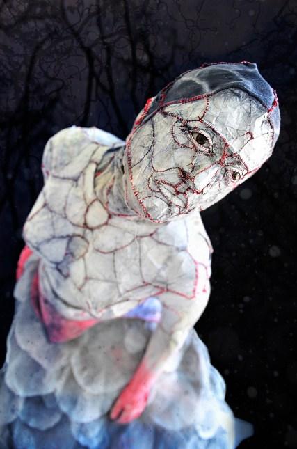 THE SEEKER, 2012, Inkprint on Linen Paper, 30x20