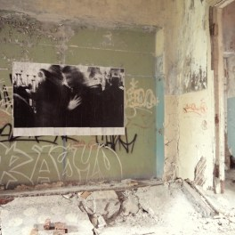 Anja Marais Artist - Как-жить / What is life? 2013, Installation inside abandoned hospital.
