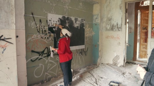 Anja Marais Video - What is life? - INSTALLATION DOCUMENTATION