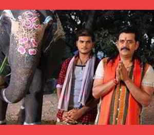चालीस बरीस बाद सिनेमा का परदा प फेरु लउकी हाथी