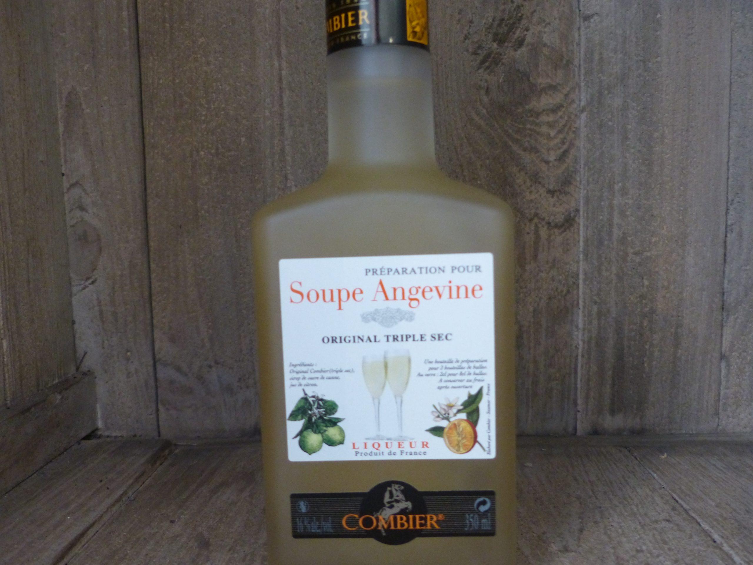preparation soupe angevine combier 35cl