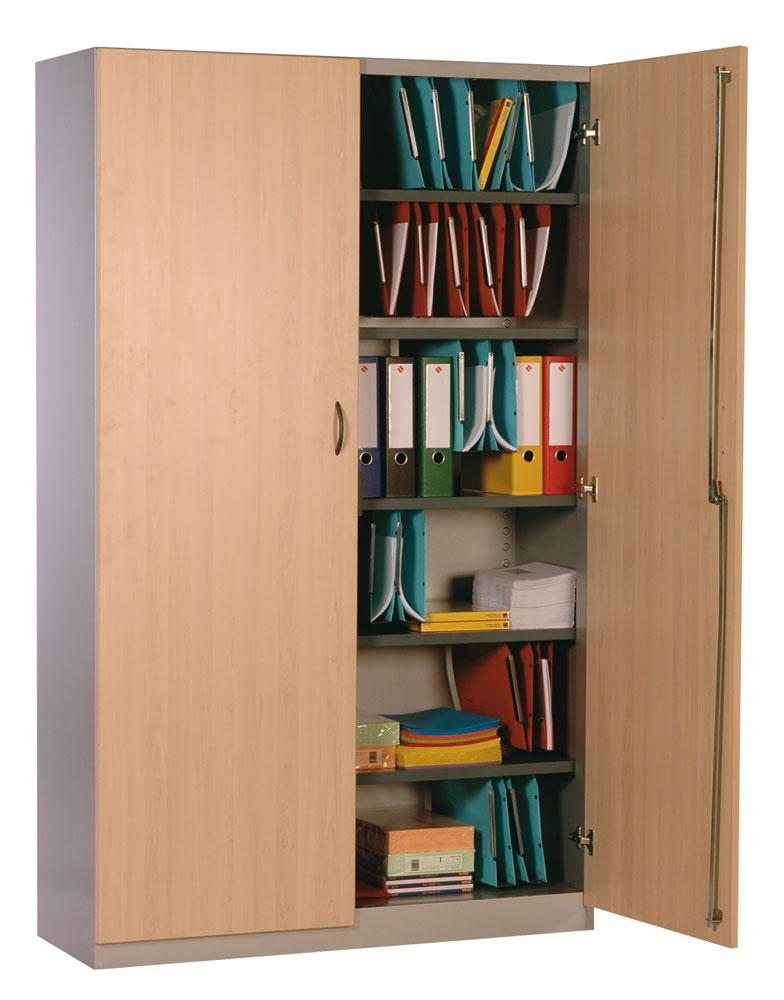 armoires de bureau bois et acier