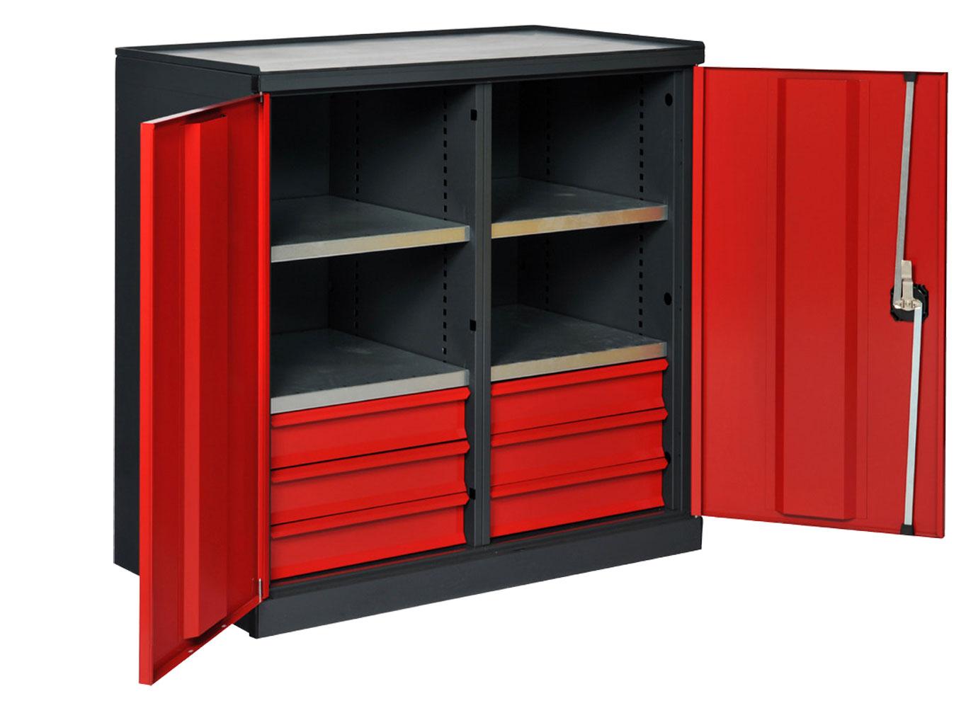 armoire atelier portes battantes ta213ps