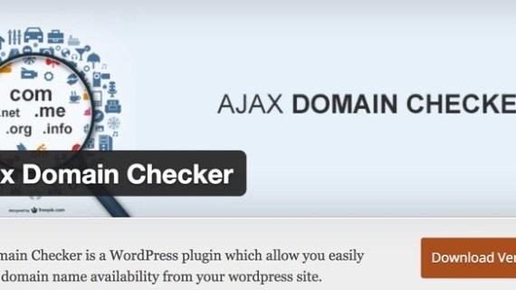 Ngetes Plugin Domain Checker WordPress, Solusi Cara Mengecek Domain Web Langsung dari Blog Kita
