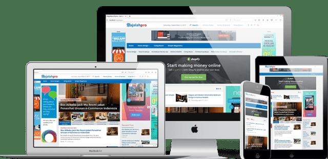 Theme Portal Berita WordPress Mirip Tribun News