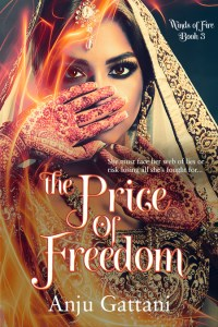 The Price of Freedom, Anju Gattani, Multicultural women's fiction, asia, india, desi, book