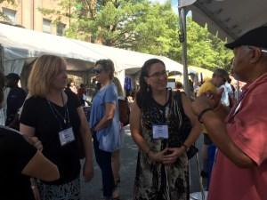 Ron Aiken, Jade Lee, Kathy Lyons, Tracy Solheim, USA Today Bestselling Author, Decatur Book Festival, Atlanta, Georgia