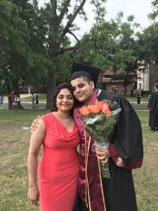 Vik Gattani, Florida State University, Graduation