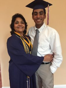 Vishesh Gattani, Milton High School, graduate