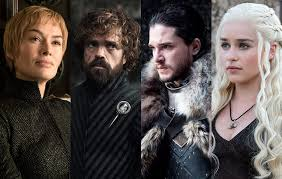 Game of Thrones, Danaerys Targaryen, Cersei, Jaime, Lannister, Jon Snow, HBO, Series, Drogon, Dragon, King's Landing, Westeros, Naath, Iron Throne