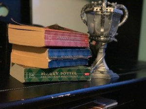 Harry Potter, Goblet of Fire, Order of The Phoenix, Half Blood Prince, Deathly Hallows