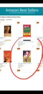 Amazon, Anju Gattani, Bestseller List, Duty and Desire