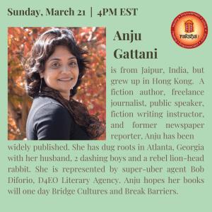 Anju Gattani, Duty and Desire, Winds of Fire series, Raksha Inc., Atlanta, Georgia, USA