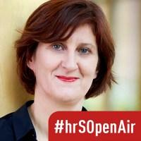 Ulrike Schmid, Referentin Unternehmenskommunikation beim hr. Foto: © HR/Ben Knabe