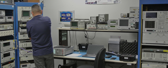 Communication Test Sets Calibration Services Lab in San Diego