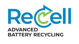 ReCell logo Advanced Battery Recylcling