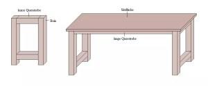 Sitzbank bauen