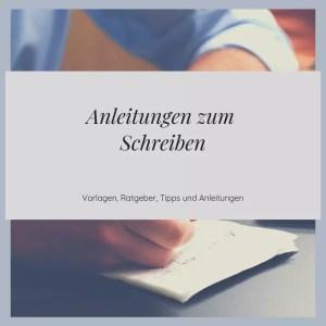 Anleitungen Zum Schreiben Lernen Von A Z