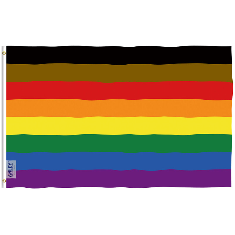 Philadelphia Rainbow Flag 8 stripes