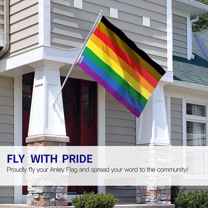 Philadelphia Rainbow Flag 8 stripes