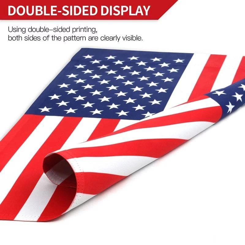 American garden flag