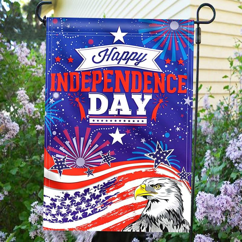 Independence day Garden Flag
