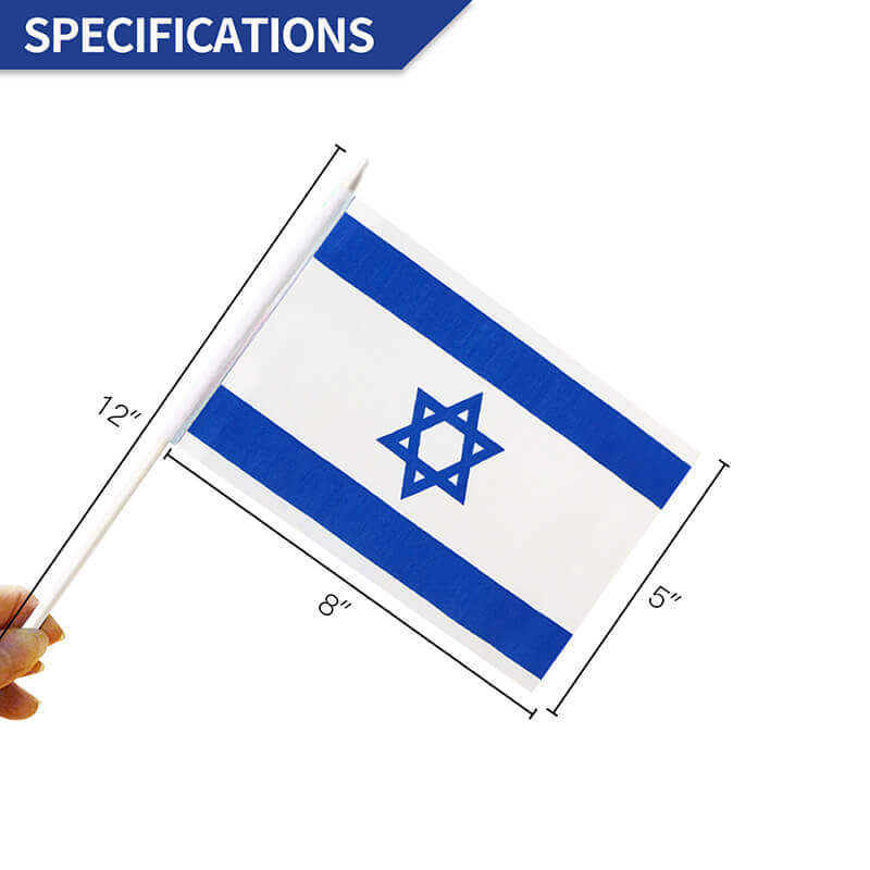 Israel Stick Flag