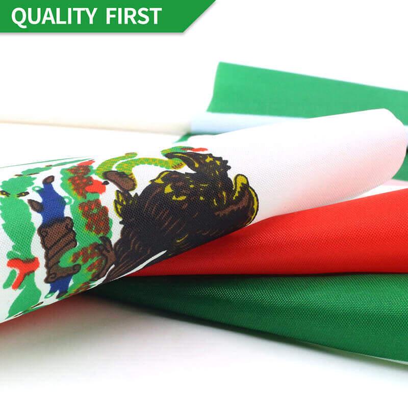 Mexico Stick Flag