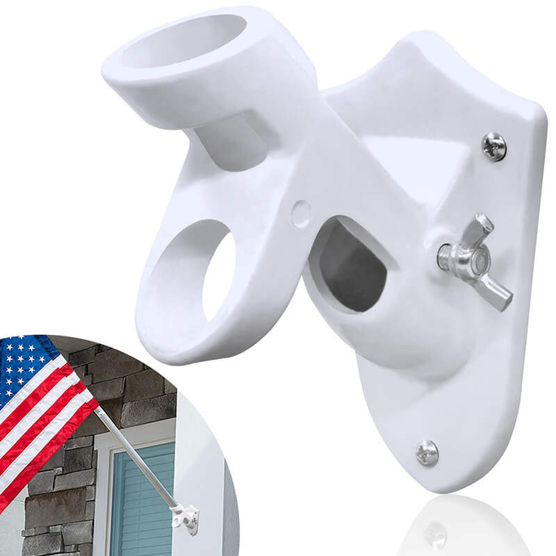 multi position flagpole mounting bracket
