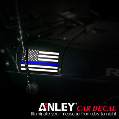us thin blue line decal