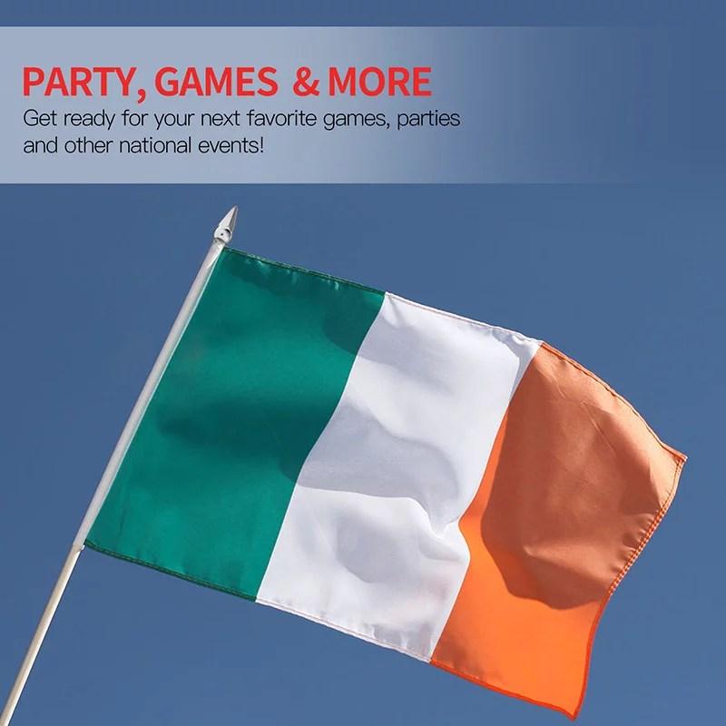 Ireland stick flag