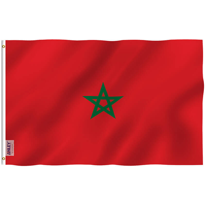 Moroccan National Flag