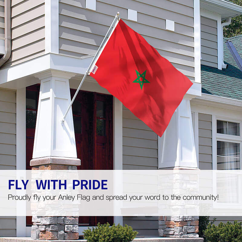 Moroccan National Flag