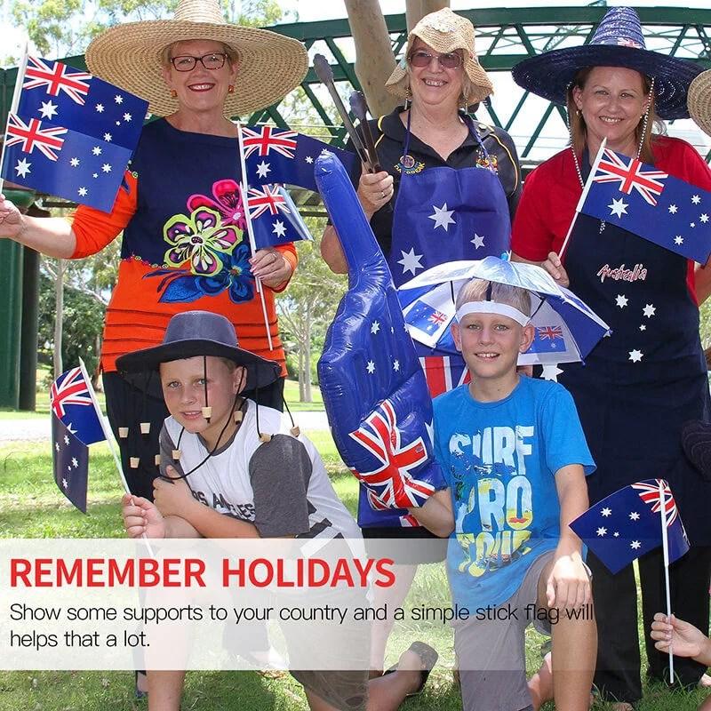 Australia handheld flag