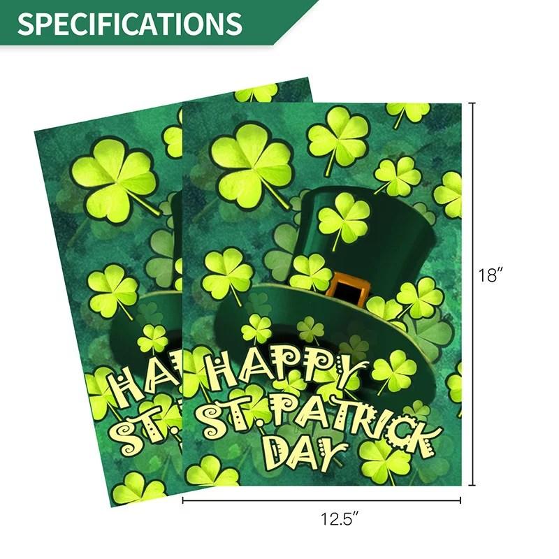 St patrick day specification