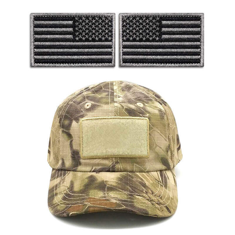 Tactical USA Flag Patches Set