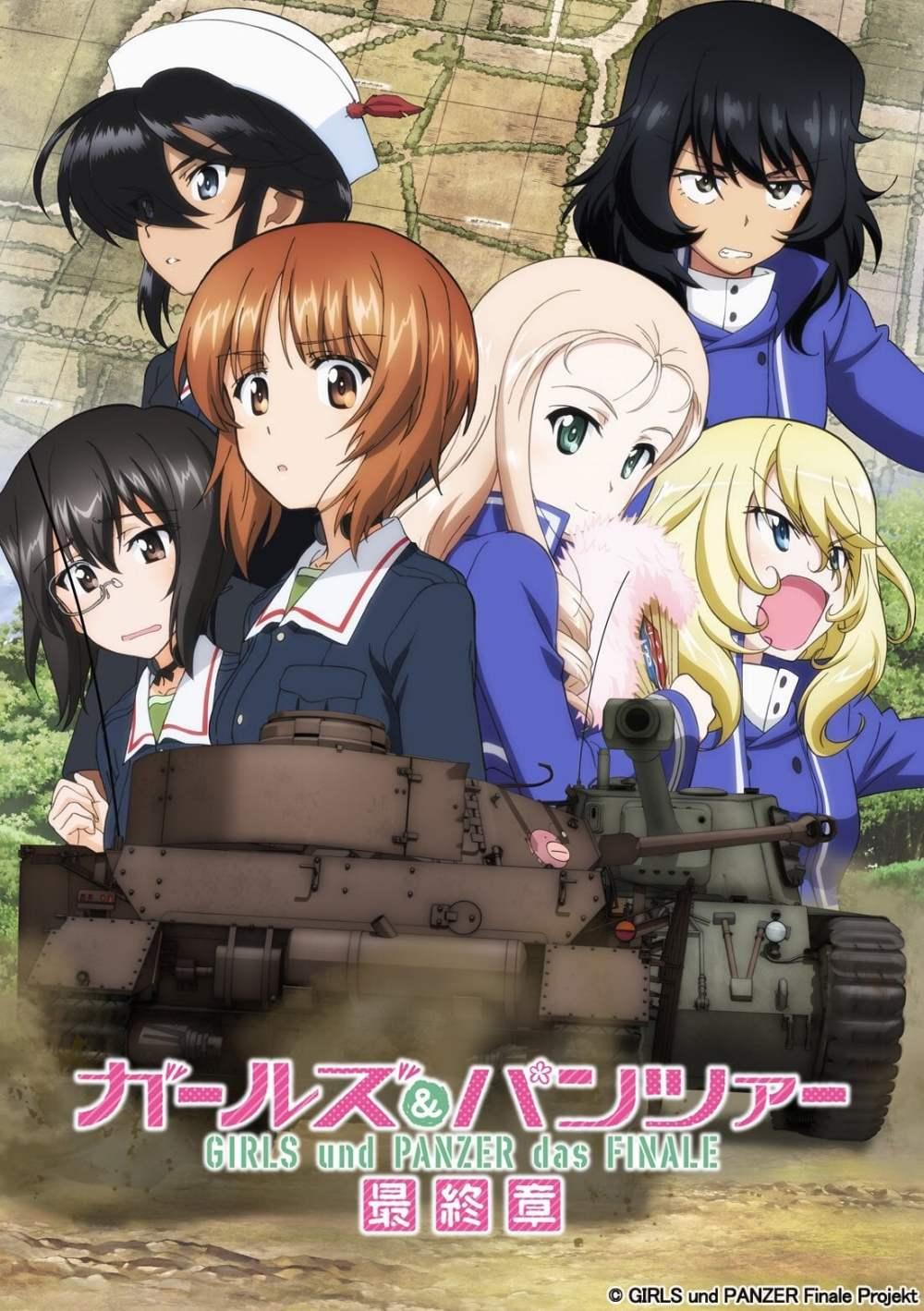 La producción de la tercera pelicula de Girls und Panzer das Finale continua