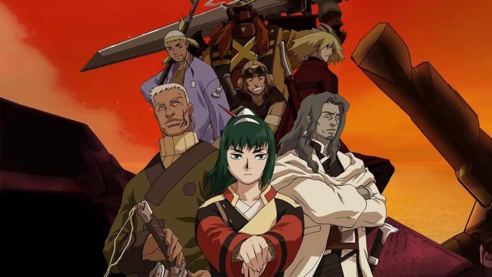 netflix junio samurai 7