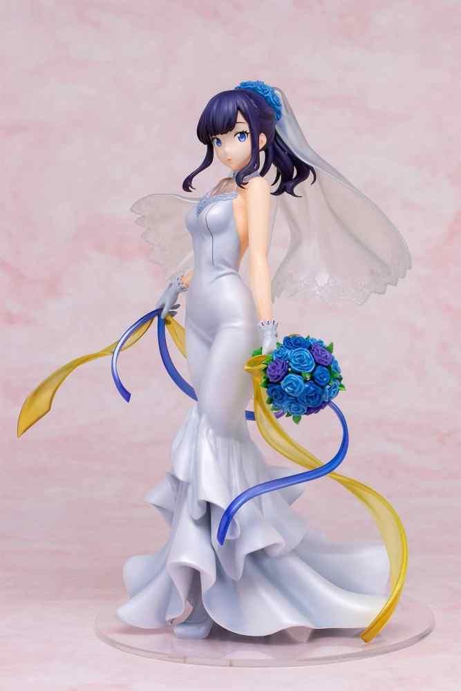 SSSS.Gridman: Rikka luce un vestido de novia para una figura a escala